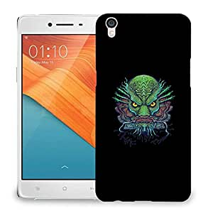 Snoogg Ugly Fish Designer Protective Back Case Cover For OPPO R9 PLUS