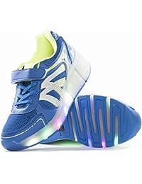 Envio 24H Usay like Zapatillas Con Ruedas Color Azul Para Niño Chico Talla 30 hasta 38 Envio Desde España