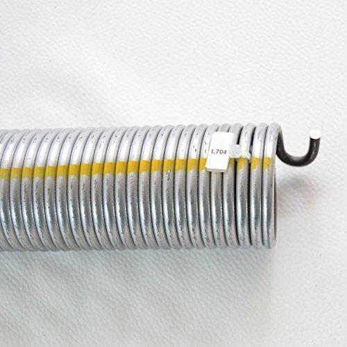 1 Stück Torsionsfeder L704 / L24 für Hörmann Garagentor Garagentorfeder Torfeder