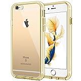 JETech Hülle für Apple iPhone 6s Plus iPhone 6 Plus, Schutzhülle mit Anti-kratzt Transparente und Rückseite, Gold