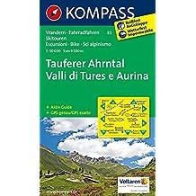 Tauferer Ahrntal - Valle di Tures e Aurina: Wanderkarte mit Aktiv Guide, Radrouten und alpinen Skirouten. Dt. /Ital. GPS-genau. 1:50000 (KOMPASS-Wanderkarten, Band 82)