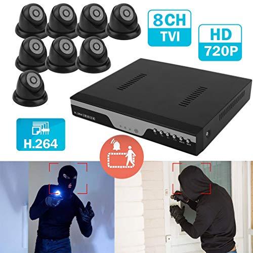 Gusaman 8CH 720P CCTV DVR 1080N Überwachung Kamera Set Video HDMI System KIT Sicherh#$@ Focus Lens Control Kit