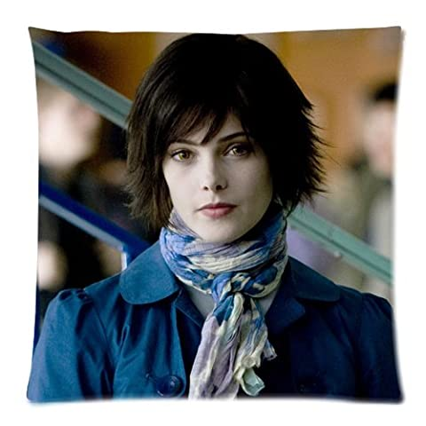 Alice Cullen Twilight Pillowcases Custom Pillow Case Cushion Cover 18 X 18 Inch Two Sides