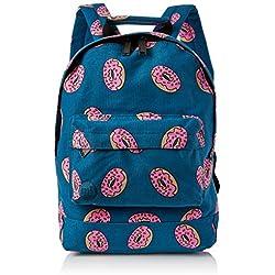 Mi-Pac Mini Backpack Print Mochila Tipo Casual, 33 cm, 10.5 Litros, Doughnut Navy