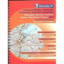 ALLEMAGNE / AUTRICHE / BENELUX / DUITSLAND / OOSTENRIJK 22462 ATLAS MICHELIN 2012