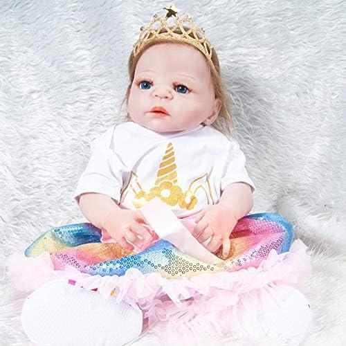 QWER Poupee Bebe Reborn,Poupée Jouet Poupée Miniature Jouets en Silicone Poupée Jouet Mignonne B07J37DS63 551808