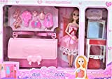 Barbie Princess Fashion Boudoir Playset (Multi Colour)