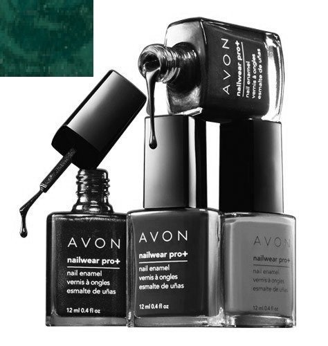 NAILWEAR PRO+ Nail Enamel - Femme Fatale Collection (Midnight Green) by 'Avon Products, Inc.'