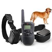 Mondpalast ® 1-100 niveau formation de chien Anti-aboiements le choc anti barking colliers de dressage