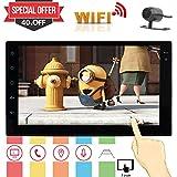 Eincar 7 pulgadas HD 1080P pantalla táctil de doble Din Car Stereo Android 6.0 malvavisco coche Autoradio Jefe Unidad GPS Ayuda de navegación control del volante / Bluetooth / 3G / 4G WIFI / FM / AM RDS Radio / OBD2 / DAB + / Cam-A + de parte posterior de la cámara
