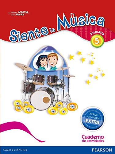 Siente La Música 5. Pack Actividades - Edición LOMCE - 9788420564364 por Fernando Martín de Argenta Pallarés