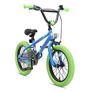 51m33TYTIcL. SS300 BIKESTAR Bicicletta Bambini 4-5 Anni da 16 Pollici Bici per Bambino et Bambina BMX con Freno a retropedale et Freno a…