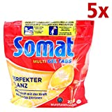 Somat Multi-Gel Tabs/Spülmaschinentabs Zitrone 5er Pack