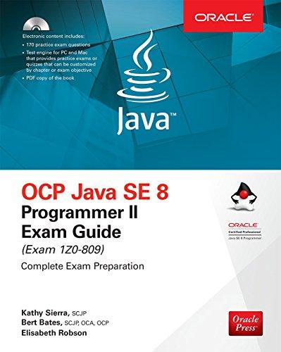 OCP Java SE 8 Programmer II Exam Guide (Exam 1Z0-809) por Kathy Sierra