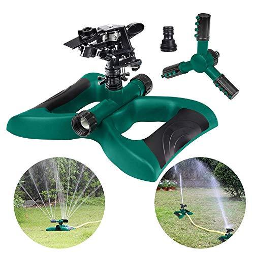 Hltd Rasensprenger, 360Grad Automatische Drehbar Wasser Rasensprenger Bewässerungssystem für...