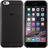 iPhone 6 Hülle in Schwarz - Silikonhülle Case Schutzhülle Tasche für Apple iPhone 6 (4,7 Zoll)