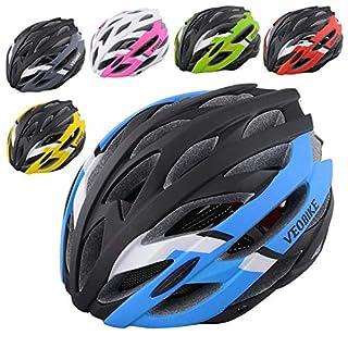 Blisfille Helm Herren Fahrrad Herren Damen Fahrradhelm Unisex Sport Helm Hat Hut Frühling Herbst MTB Mountainbike Winddichte Staubdicht Sportbekleidung