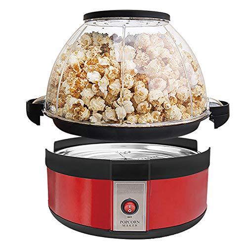 ACOMG Elektrische Heißöl-Popcorn-Popper-Maschine, Volcano Popcorn Maker, mit großem Deckel für abnehmbare Schüssel und praktischer Aufbewahrung