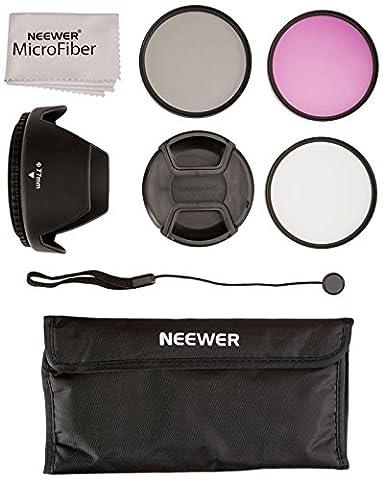 Neewer 10074741 77 mm Objektiv-Filter-Profi Zubehörsatz für