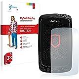 3x Vikuiti MySafeDisplay Film(s) de protection d'écran DQCT130 de 3M pour Garmin Edge 810