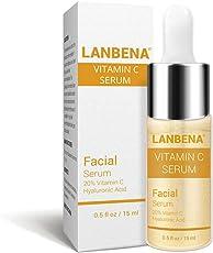 Lanbena Vitamin C Serum For Skin Whitening with Hyaluronic acid for moisturizing(Unisex)