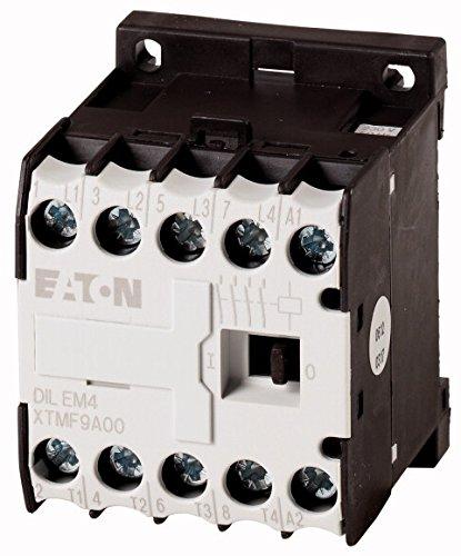 Eaton 223287 Leistungsschütz, 4-polig, 4 kW/400 V/AC3, Großpackung