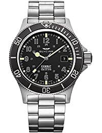 GLYCINE COMBAT SUB relojes hombre 3908.191AT-GD MB