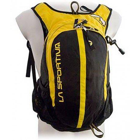 La Sportiva Backpack Elite Trek - Bolsa de magnesio para escalada, color amarillo