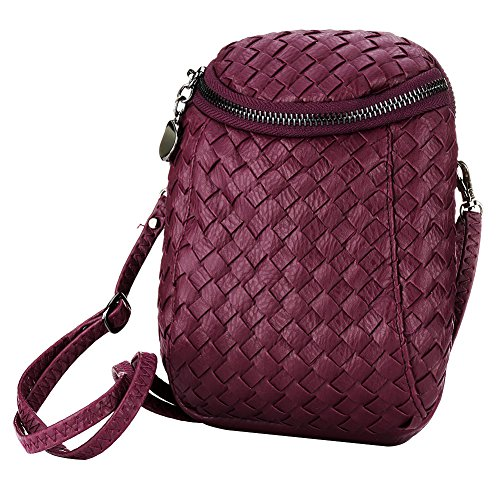 SSMK Crossbody Bag, Borsa a tracolla donna purplish