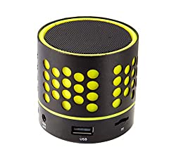 Zebronics ZEB-DOT Bluetooth wireless Speaker with built in FM / USB /SD Card Slot (Yellow)