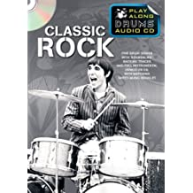 Play Along Drums Audio CD: Classic Rock: #F# Play-Along, CD, BOOKLET für Schlagzeug (Play Along Drums Audio CD/Book)