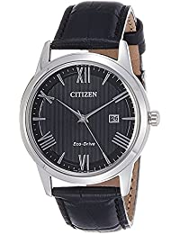 Citizen Herren-Armbanduhr Analog Quarz Leder AW1231-07E