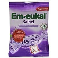 Em-Eukal Salbei- Bonbons zuckerfrei, 75 g preisvergleich bei billige-tabletten.eu