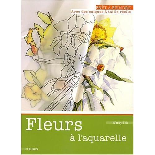 Fleurs à l'aquarelle