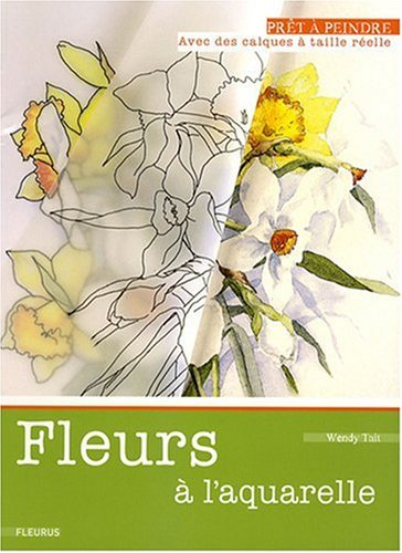 Fleurs à l'aquarelle par Wendy Tait