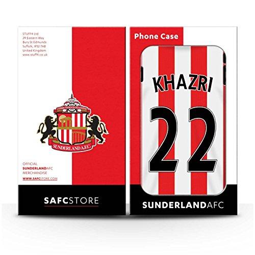 Offiziell Sunderland AFC Hülle / Matte Harten Stoßfest Case für Apple iPhone 6S+/Plus / Pack 24pcs Muster / SAFC Trikot Home 15/16 Kollektion Khazri