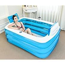 fhkvasca da bagno pieghevole aumentare lispessimento delladulto bagno schiuma plastica vasca da bagno vasca da bagno gonfiabile canna da bagno