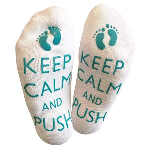 Bring Me Socks Behalten Sie ruhig und drücken Sie - lustige Arbeitssocken, Damit die Mama ist