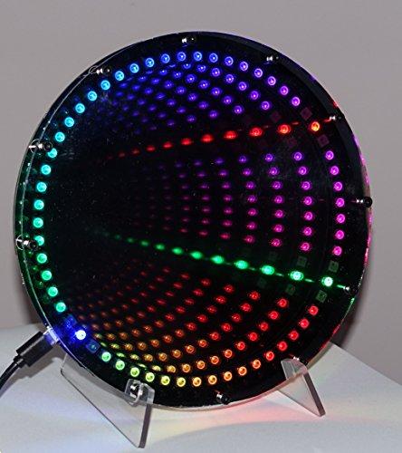 infinity-mirror-clock-3d-effect-diy-premium-kit