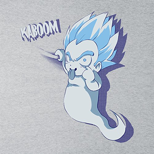 Kaboom Dargon Ball Z Men's Vest Heather Grey