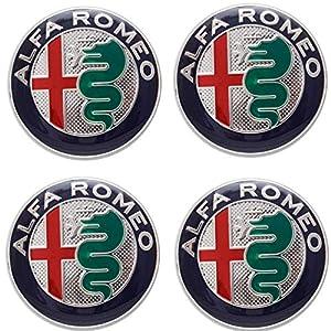 COMPATIBILE-VSTORE Aufkleber für Alfa Romeo 147 156 GT Giulia My 2016 Mito Green Felgen Lega Rad