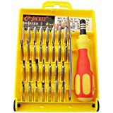 Shopee Tool And Screwdriver Kit For Laptop & Mobile, 32 In 1 Multipurpose, Repair Tool Kit + OTG Adaptor Compatible For All Android Phones