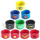 Best Party Favors per i bambini - LAOZHOU 10Pack supereroe braccialetti a scatto, per bambini Review