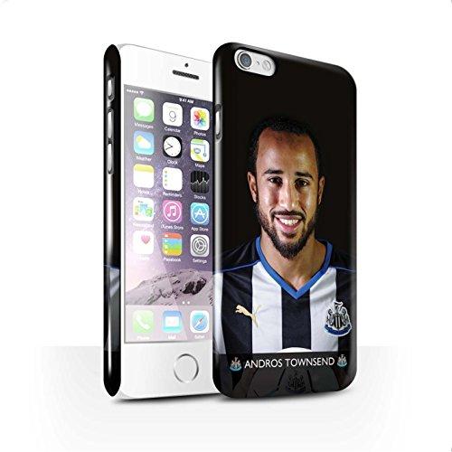 Offiziell Newcastle United FC Hülle / Glanz Snap-On Case für Apple iPhone 6S / Anita Muster / NUFC Fussballspieler 15/16 Kollektion Townsend
