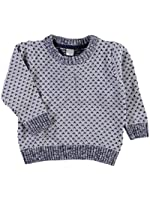 Name it NITODVIG M LS O-NECK KNIT Pullover für Jungen Grey Melange