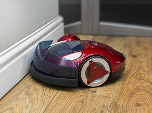 51m3JwiF9 L - Pifco Robotic Vacuum Cleaner, Anti-Falling System, 1500 mAh, 25 W, Red
