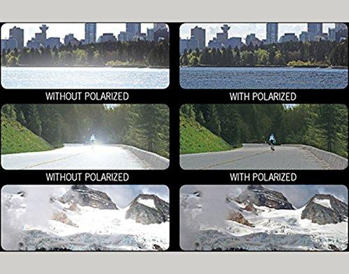 Vast Polarized Rectangular Unisex-Adult Sunglasses And Frames(Clipon_012_Round_Yellow)