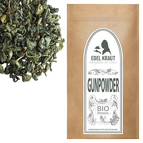 EDEL KRAUT | BIO GUNPOWDER 1.St GRADE Premium Grüner Tee - Green Tea Organic 250g