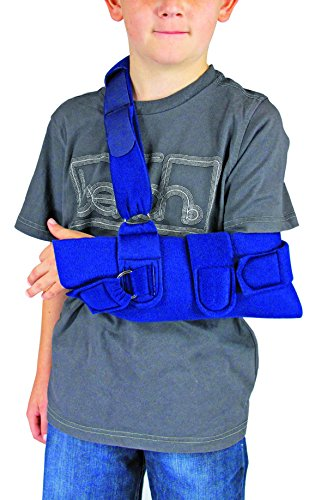 Universal Schulter-wegfahrsperre (Kinder Arm Riemen Schulter Wegfahrsperre Bandage Erhältlich in schwarz oder blau Männer & Frauen Schulterschiene, Ellenbogenstütze, Unterarmstütze, Schulter Verrenkung gebrochenen Arm Schiene)