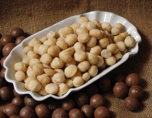 Preisvergleich Produktbild Naturix24 – Macadamianüsse geröstet – 500g Beutel